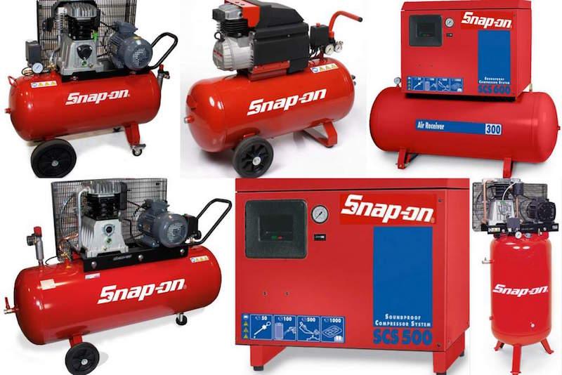 Snap-on Compressoren Collage 1