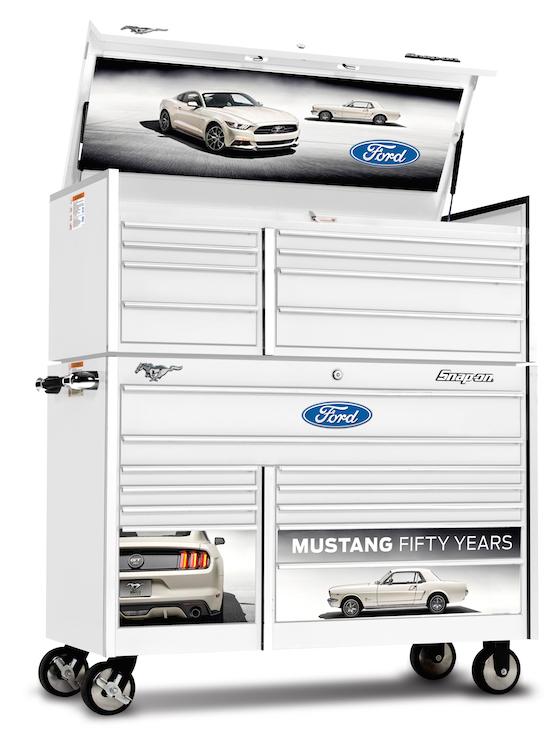 ford mustang 50 jaar Snap on eert 50 jaar Ford Mustang met exclusieve Tool Boxes   Snap on ford mustang 50 jaar